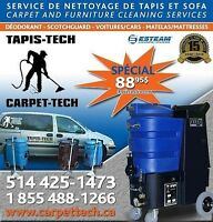 nettoyage de tapis //TAPIS-TECH CARPET-TECH //carpet cleaning