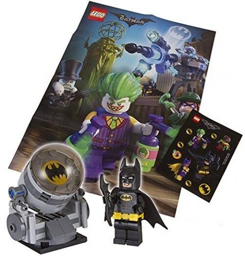 Lot of 5 LEGO Batman Movie Bat Signal Promotion set polybag