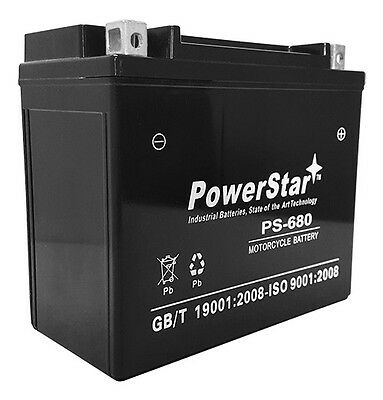 YTX20L-BS High Performance Power Sports Battery + Charger - 2 YEAR (Ytx20l Bs High Performance Power Sports Battery)
