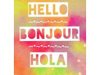 French or Spanish tuition with an experienced, friendly, UK qualified Tutor