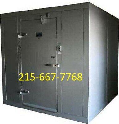 New Amerikooler 12 X 12 X 77 Indoor Walk-in Cooler W Floor - Made In The Usa
