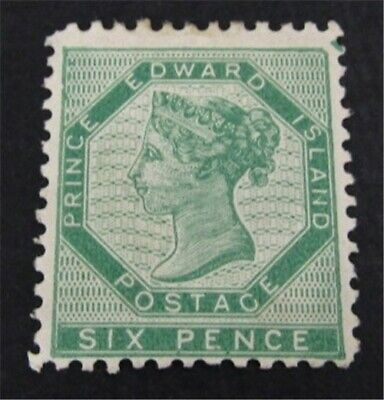 nystamps Canada Prince Edward Island Stamp # 7 Mint OG H $125   L23y2936