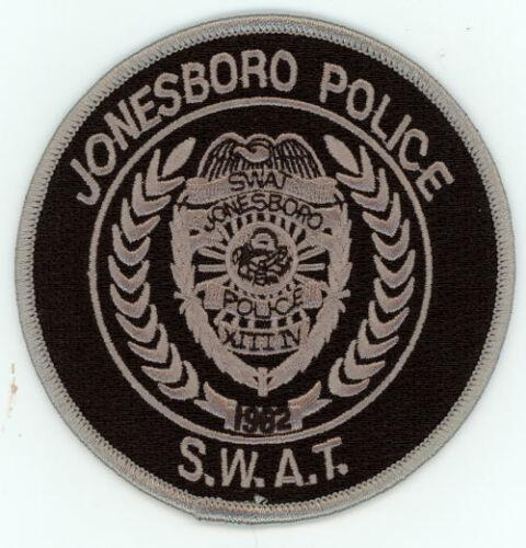 JONESBORO POLICE ARKANSAS AR SWAT SUBDUED NEW PATCH SHERIFF