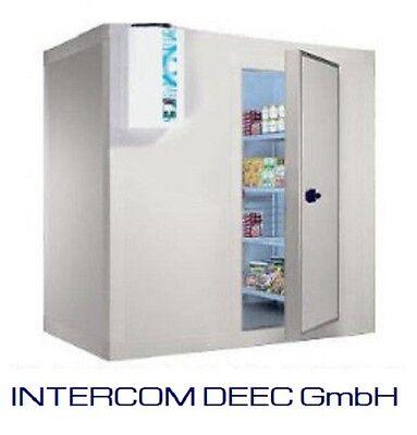 Kühlzelle oder Tiefkühlzelle mit Edelstahlboden, Kühlhaus 210x120x200 cm