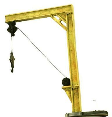 STEEL Jib Loading Crane S Scale comes Built and Pre Weathered