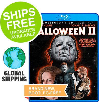 Halloween II (Blu-Ray Collector's Edition) NEW, Jamie Lee Curtis Scream Factory