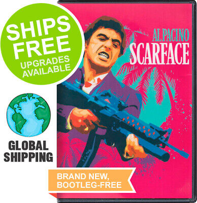 Scarface (DVD, 1983) NEW, Al Pacino, Michelle Pfeiffer, Steven Bauer