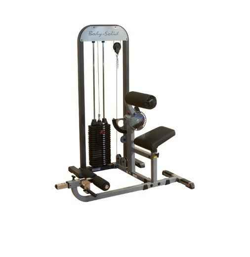 Body-solid Pro Select Ab/back (gcab-stk-2) Home Gym Machine 210lbs Stack *new*