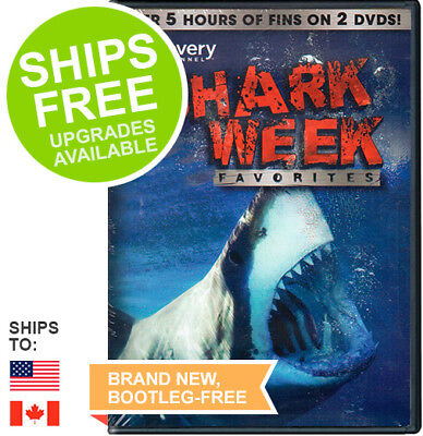 Shark Week Favorites  Dvd  2011  New  Discovery Channel