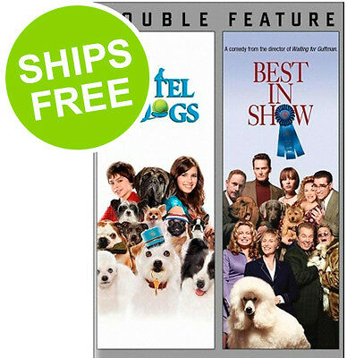 Hotel for Dogs / Best in Show (DVD, 2013) NEW, AKC,Animal Planet, Dog Show,