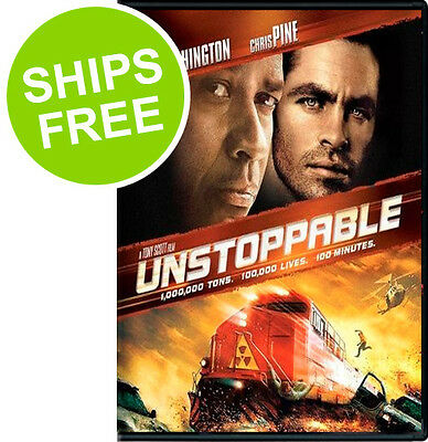 Unstoppable  Dvd  2011  New  Sealed  Denzel Washington  Chris Pine  Rosario