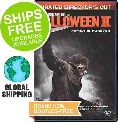 Halloween II 2 (Unrated Directors Cut DVD, 2009) NEW, Widescreen, Rob Zombie