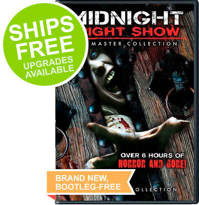 Midnight Fright Show (2017, DVD) NEW, Gore, Horror, Halloween, Zombies, Vampires - New Halloween Movies 2017