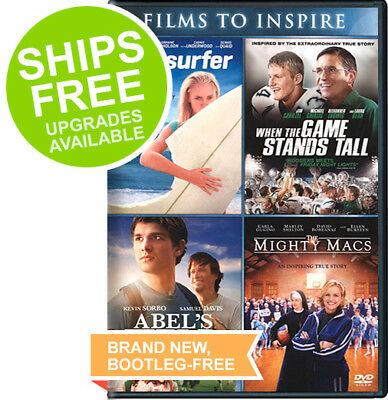 Abel's Field / The Mighty Macs / Soul Surfer / When the Game Stands Tall DVD