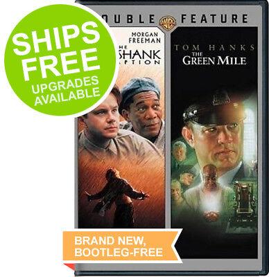 The Green Mile   Shawshank Redemption  Dvd  2017  Tom Hanks  Tim Robbins  Morgan