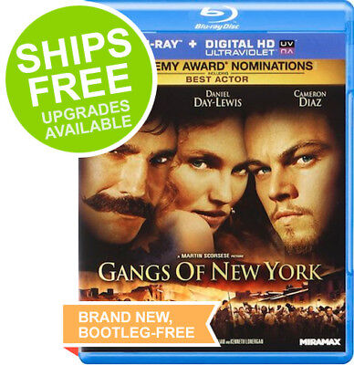 Gangs Of New York  Blu Ray  2011  New  Sealed  Leonardo Dicaprio  Cameron Diaz