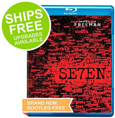 Seven  Blu Ray  2011  New  Brad Pitt  Morgan Freeman  Se7en  David Fincher