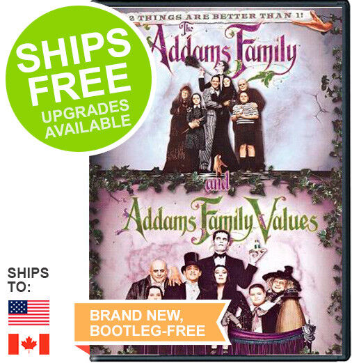The Addams Familyaddams Family Values 2 Movie Collection 4