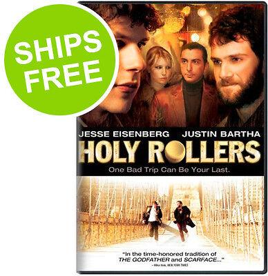 Holy Rollers (DVD, 2010) NEW, Sealed, Jesse Eisenberg, Justin Bartha