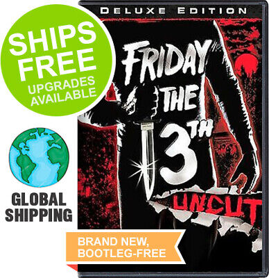 Friday the 13th Uncut (DVD, 2009 Deluxe Edition) NEW, 1980, Part 1, Kevin -