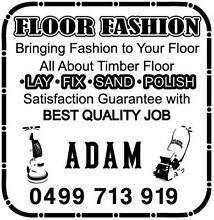 Floor Fashion(Timber Floor Laying, Sanding, Staining, Polishing) Chadstone Monash Area Preview