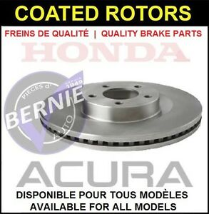 DISQUES COATED ROTORS HONDA FIT DEL SOL ACURA CIVIC EL INTEGRA