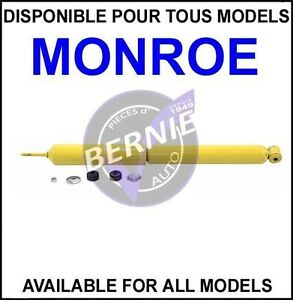 MONROE Gas-Magnum FORD E 150 ECONOLINE REAR SHOCKS ARRIERE AMOR