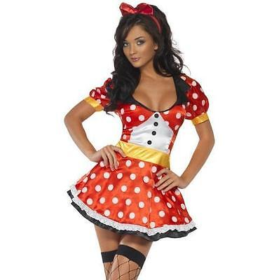 Ladies Missy Mouse Fancy Dress Costume Womens Outfit by Smiffys - Missy Kostüm