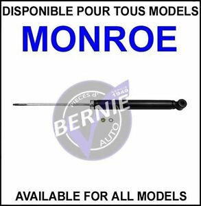 MONROE OESpectrum REAR ARRIERE TOYOTA ECHO 2000-2005 LOW PRICE