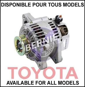 TOYOTA YARIS 2007-2012 ALTERNATOR ALTERNATEUR LOW PRICE BAS PRIX
