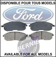 FORD WINDSTAR FREESTAR FREINS AVANT FRONT BRAKE PADS