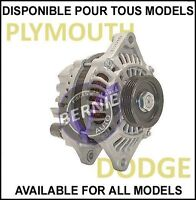 ALTERNATOR ALTERNATEUR DODGE NEON Sx PLYMOUTH