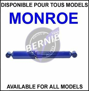 MONROE Monro-Matic Plus REAR ARRIERE CHRYSLER DODGE PLYMOUTH