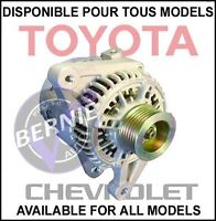 ALTERNATOR ALTERNATEUR TOYOTA COROLLA CHEVY BAS PRIX LOW PRICE