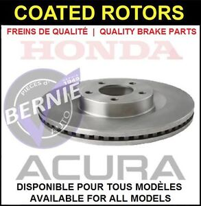 COATED ROTORS DISQUES HONDA CIVIC ACURA CSX LOW PRICE BAS PRIX