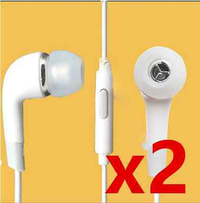 2x Stereo Headsets for HTC Desire 626,610,510,320,Nexus 9,One XL,One X,One SV Htc One X Stereo