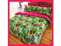 Tropical Bedding - Double Size