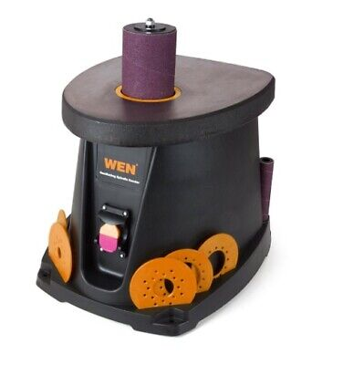 Spindle Sander Oscillating Power Tool Powerful Compact Lockout Power Switch Home