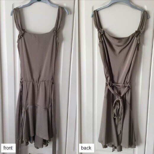 Bronze coloured dress, size 10 - ideal for festive party nights!