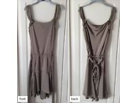 Bronze coloured dress - ideal for festive party nights!