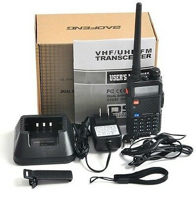 Baofeng Walkie Talkie UV-5R Dual Band VHF&UHF Transceiver Two Way Radio US STOCK on Rummage