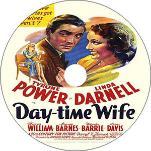 Day-Time Wife _ Tyrone Power Linda Darnell Warren William 1939 V rare