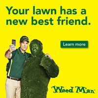 WEED MAN - LAWN CARE TECHNICIANS