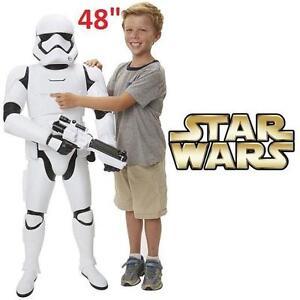 "NEW* STAR WARS STORMTROOPER 48"" DISNEY KIDS TOYS - FIRST ORDER BATTLE BUDDY - ACTION FIGURES 111217716"