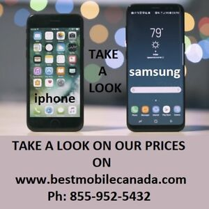 Samsung and iPhone SE 6 6S 7 PLUS 8 S5 S6 S7 S8 S9 edge Kamloops