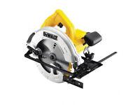 Dewalt DWE560 110v Compact Circular Saw plus TRAN33A 3.3kVA Dual Socket Transformer
