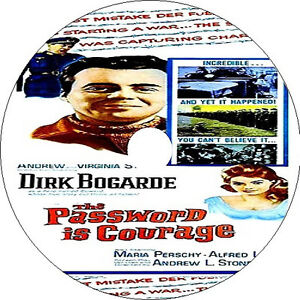 The Password Is Courage DVD Dirk Bogarde Maria Perschy Alfred Lynch rare