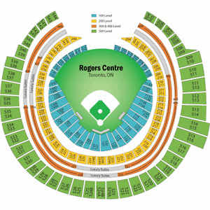 Toronto Blue Jays Tickets Every game 2016 Season 100 Level