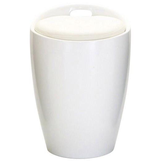 *STOOL FOR DRESSER / DRESSING TABLE - WHITE HIGH GLOSS FINISH
