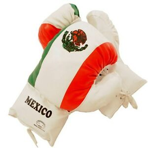AGE 3-6 KIDS 4 OZ MEXICO BOXING GLOVES YOUTH PRACTICE TRAINING MMA Faux Leather